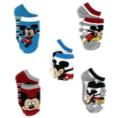 Mickey Mouse Toddler Boys 5 pack Socks #MickeyMouse #Disney #Mickey Novelty Sock Set #YankeeToyBox #NoveltySocks #PrimeShipping #AmazonPrime