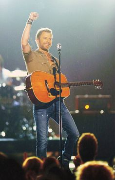 Dierks Bentley is touring now.  Check out his schedule today to see if he is playing near you!