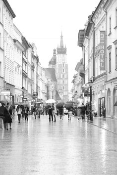 #photography  #krakow #rain #vintage