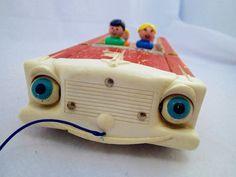 Fisher Price Little People LP Nifty Station Wagon by PoniesOfDooom
