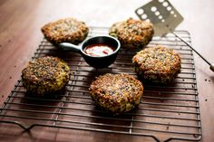 """I find recipes like this fascinating. It combines cauliflower, potato, and quinoa into a patty.  Who was the first person to think to substitute grains for cauliflower? How did they discover this? Did they just wake up one day with a question and a desire to experiment. This is an example of innovative thinking described in """"The Innovator's DNA."""" Questions coupled with other innovative acts can revolutionize our organizational practices."""