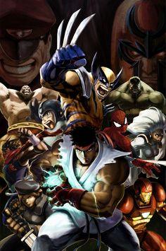 Promotional Poster- Marvel vs Capcom 2 (2009)