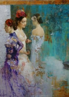 The three graces ...  By Francois Fressinier