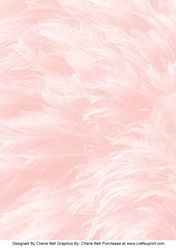 Pastel Pink Feathers Background Paper
