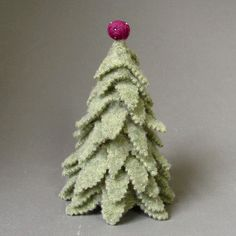 felted sweater tree