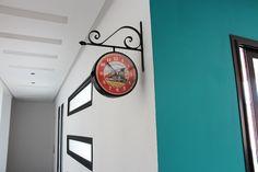 Horloge /  murale / double face / Vintage / Style