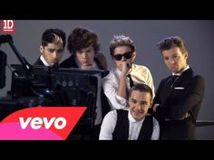 One Direction - Kiss You (Behind The Scenes) haha i love this lol
