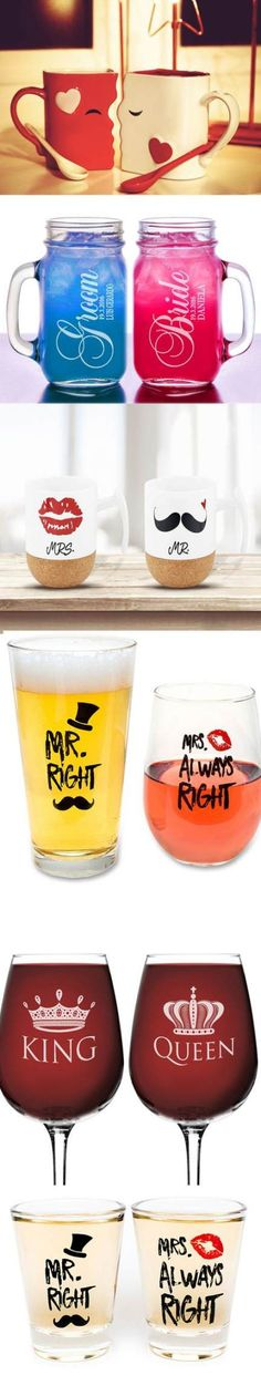 of July Gift idea! - Cute & Awesome Matching Couple Gifts / favors Ideas that are a clever gift /favo. - Gift Ideas World