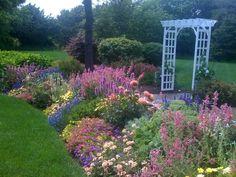 Edgartown garden.    By Second Nature Designs. Martha's Vineyard
