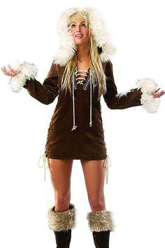93 best costumekeupkebelieve images on pinterest costumes eskimo costume solutioingenieria Choice Image