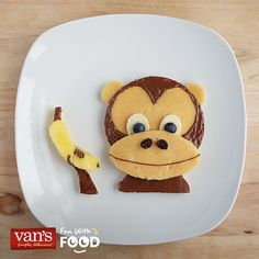 When it come to delicious pancakes, we don't monkey around!