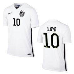 Carli Lloyd personifies the word amazing! You can too with her home jersey on your back!