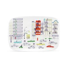 Klas Fahlén illustrations for Kate Spade porcelain serveware 4