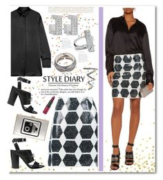 """""""NEW FASHION STYLE DIARY"""" by rousou ❤ liked on Polyvore featuring McQ by Alexander McQueen, E L L E R Y, Anya Hindmarch, Rebecca Minkoff, Kenneth Jay Lane, Topshop and Rimmel"""