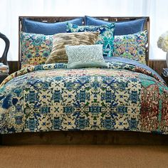 eda3e4e1f49e5 product image for Tracy Porter® Poetic Wanderlust® Astrid Quilt in Blue  Enchanted Forest Room