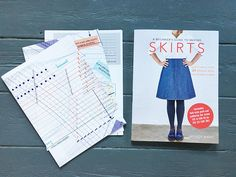 A Beginner's Guide to Making Skirts reviewed on The Fold Line! The Fold Line, Book Review, Dressmaking, Sewing, Cover, Skirts, Books, Sew Dress, Libros
