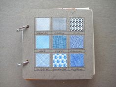 bits of envelope & tons of other art journal page ideas