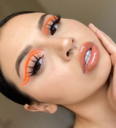 Edgy Makeup, Eye Makeup Art, No Eyeliner Makeup, Skin Makeup, Eyeliner Ideas, Eyeliner Tutorial, Natural Eyeliner, Black Eyeliner, Makeup Inspo