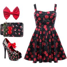Cherry Jubilee Dress, available exclusively at www.RicketyRack.com!