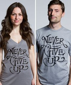 """""""Never Give Up"""" by  Jon Contino"""