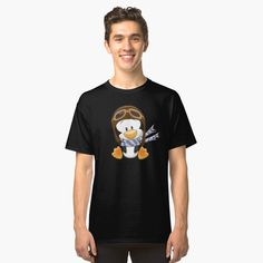 Penguin S, My T Shirt, Classic T Shirts, Printed, Tees, Awesome, Cute, Mens Tops, Stuff To Buy