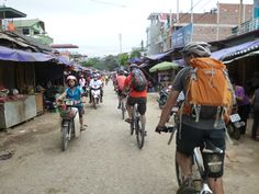 Markets of Dien Bien Phu, Hanoi to Laos Mountain Bike Epic, Vietnam, with KE Adventure Travel, https://www.keadventure.com/holidays/vietnam-laos-cycling-sapa