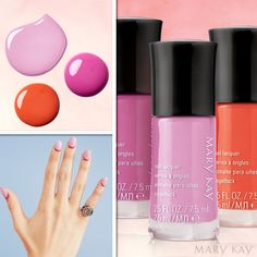 Mary Kay Spring 2017 Product Launch. Beautiful fresh nail colors