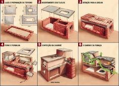 how to build a fogao a lenha - Google Search