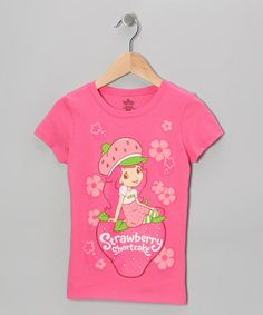 Take a look at this Hot Pink Strawberry Shortcake Tee - Girls by Strawberry Shortcake on #zulily today!