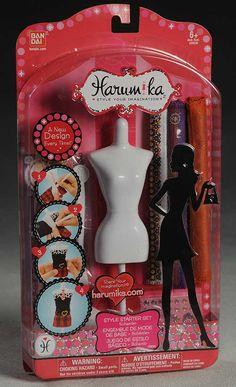 Harumika fashion designer toy by Bandai