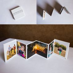Accordion Minis - Impress your friends and family with a 3x3 custom album with magnetic closure.  The perfect on-the-go brag book!  Jo Truncali Photography
