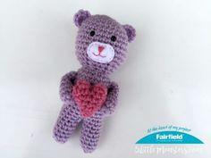 aacbdcc4e Tiny Heart Teddy Bear - Fairfield World Craft Projects
