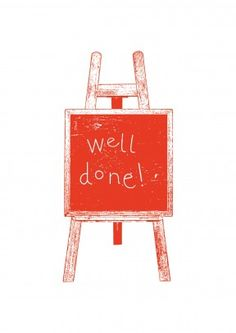 Well Done! A lovely congratulations card. Say congrats and give him or her a pat on the back with this lovely well done card. Perfect for every successful occasion, from getting a promotion, new job or passing a driving test.