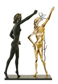 Homage to Terpsichore / Salvador Dalí (1904-1989, Spanish) / impressionism / Bronze (lost wax process) Edition number 202 of 350 + 35 AP
