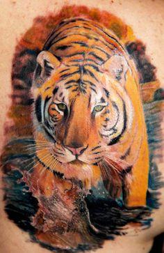Tattoo Artist - Christopher Allen Pchelka - animal tattoo | www.worldtattoogallery.com