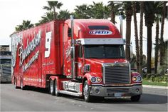 Petty, NASCAR, Bud, Freightliner, Transporter, Hauler