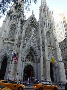 DIVAGAR SOBRE TUDO UM POUCO: CATEDRAL ST. PATRICKS - New York