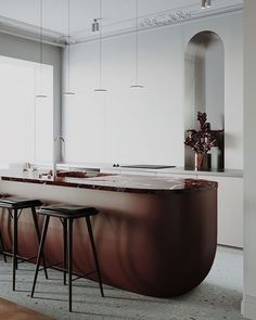 FORECAST: Curved Cabinetry — Curatist Studio Blog — Curatist Studio - Interior Design Blog