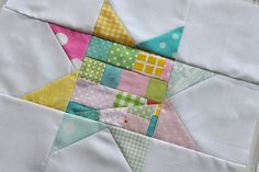 Scrappy star quilts