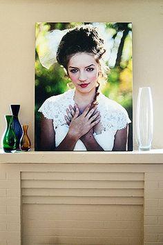 Gorgeous photo on canvas