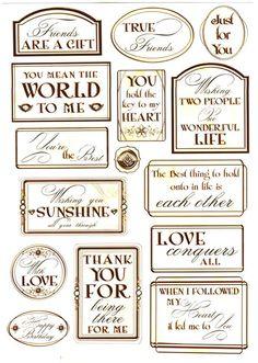 Debbi Moore Designs - Elegant Moments card toppers #12