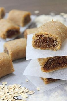Raw Fig Rolls recipe from http://peachypalate.com/2013/08/29/a-family-favouritebiscuit/.