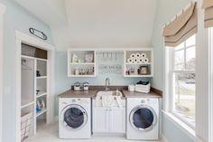 laundry room   2015 Coastal Virginia Magazine Idea House