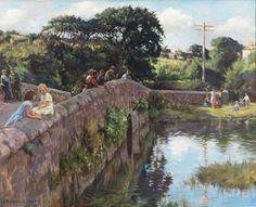 Evening on the Bridge - Stanhope Alexander Forbes