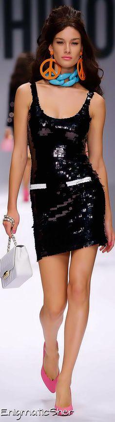 Moschino Spring 2015 Boho fashion