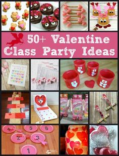 Valentine's Day Class Party Ideas - Joy in the Works day party ideas. - Valentine's Day Class Party Ideas – Joy in the Works day party ideas Valentine's - Valentines Day Activities, Valentines Day Party, Valentines For Kids, Valentine Day Crafts, Valentine Games, Easter Crafts, Valentine's Day Party Games, Class Party Ideas, Party Party