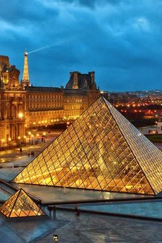 Louvre Museum, Paris, France - These are some good ideas of places to take Miranda to.
