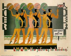 LNER East Coast poster by Austin Cooper