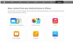 ONE: Apple presenta guía para migrar contenido de Android a iOS