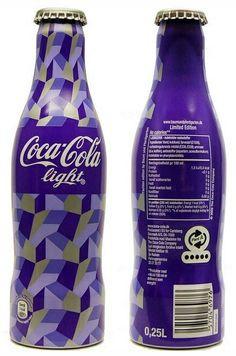 Denmark - Coca Cola created pin by Dipak_Singal Purple Love, All Things Purple, Purple Rain, Shades Of Purple, Purple Stuff, Coca Cola Bottles, Coke Cans, Pepsi Cola, Basement Bars